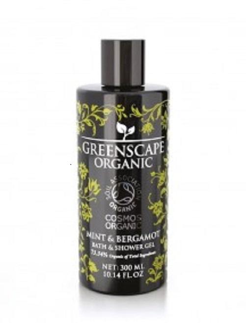 Greenscape Organic 薄荷與佛手柑清新沐浴膠 2